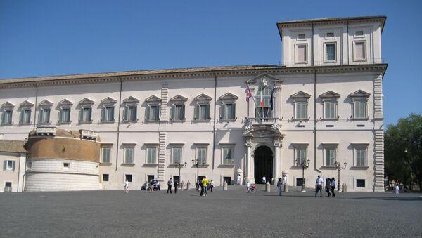 Le palais du Quirinal, résidence officielle du président de la République italienne - Sputnik France