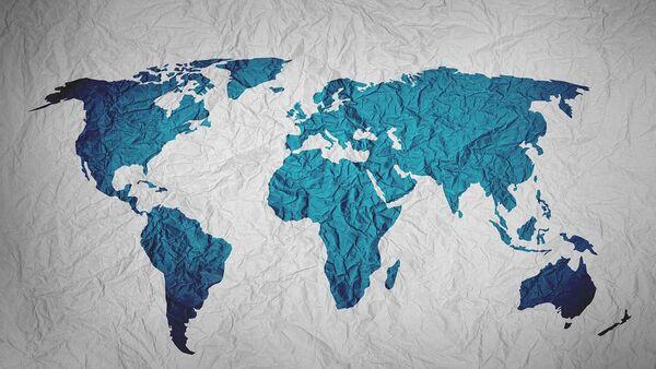Карта мира - Sputnik France
