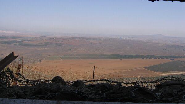 Plateau du Golan, archives - Sputnik France