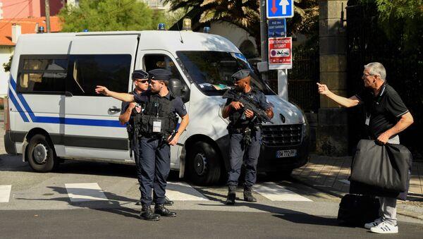 policiers à Biarritz à la veille du G7 - Sputnik France