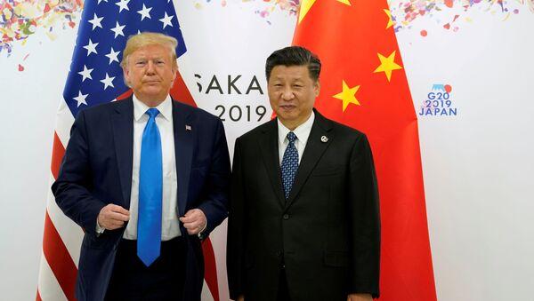 Donald Trump et Xi Jinping lors du sommet G20 à Osaka, le 29 juin 2019 - Sputnik France
