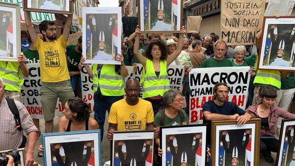 Marche des portraits à Bayonne, 25 août 2019 - Sputnik France