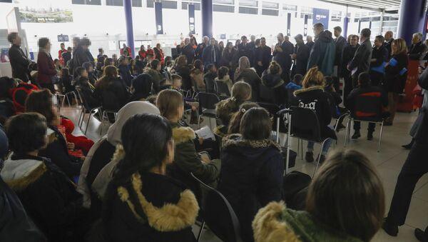Des réfugiés yézidis en France, le 20 décembre 2018 - Sputnik France