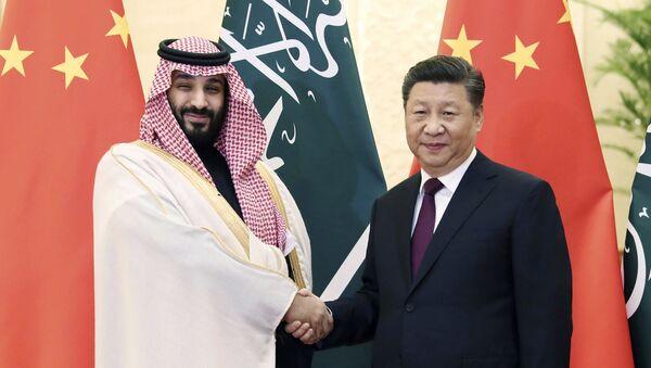 Xi Jinping et Mohammed ben Salmane - Sputnik France