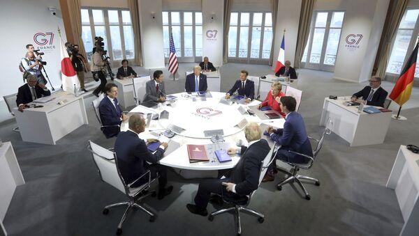 Sommet du G7 à Biarritz (archive photo) - Sputnik France
