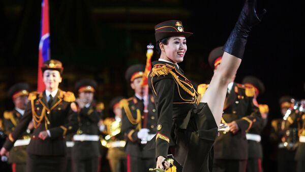 L'orchestre de l'Armée de Corée du Nord au festival Tour Spasskaïa à Moscou - Sputnik France