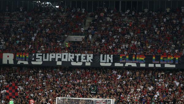 De nouveaux chants homophobes perturbent un match Nice-Marseille  - Sputnik France