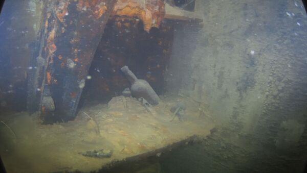 Images inédites d'une épave mythique engloutie dans l'Arctique - Sputnik France
