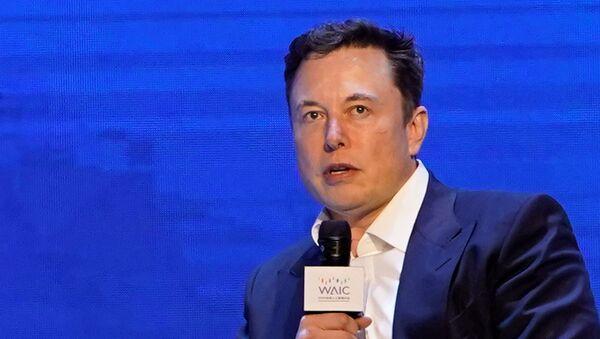 Elon Musk à la Conférence mondiale sur l'intelligence artificielle à Shanghai (29 août 2019) - Sputnik France