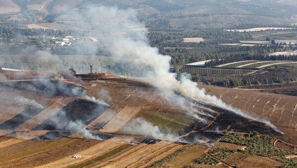 Village du sud du Liban pilonné le 1er septembre par Israël - Sputnik France