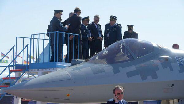 La délégation algérienne à Maks a visité deux fois le Su 57 - Sputnik France