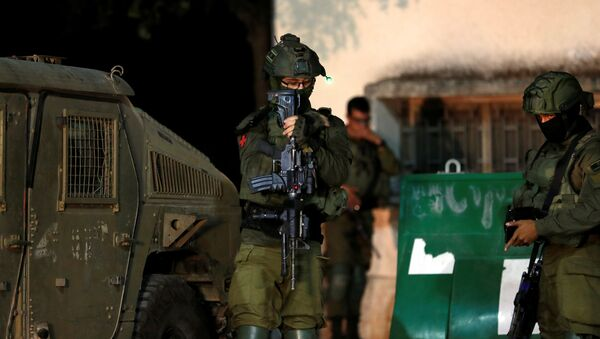 Des militaires israéliens près de la frontière avec le Liban,  le 1er septembre 2019. - Sputnik France