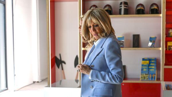 Brigitte Macron, le 29 août 2019 - Sputnik France
