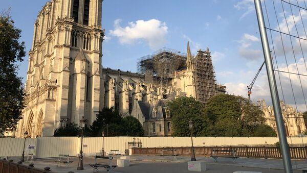 Notre-Dame de Paris en cours de restauration, 2019 - Sputnik France