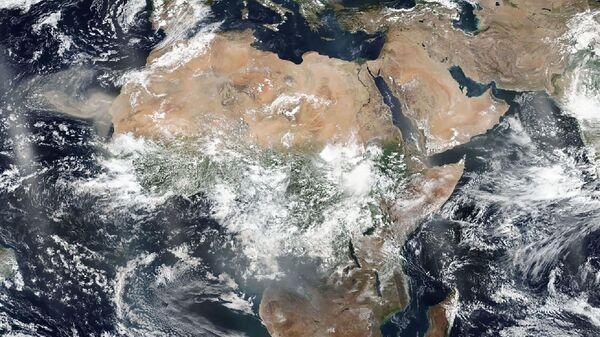 Image satellites de l'Afrique - Sputnik France