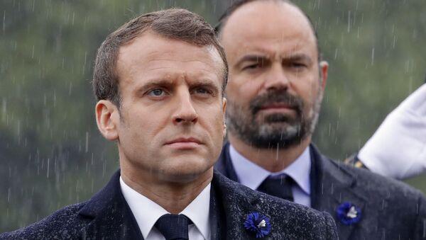 Emmanuel Macron et Edouard Philippe  - Sputnik France
