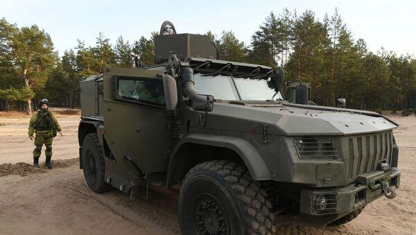 Le véhicule blindé 4386 Typhoon - Sputnik France