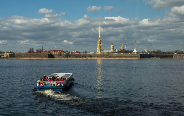 La forteresse Pierre-et-Paul au cœur de Saint-Pétersbourg - Sputnik France