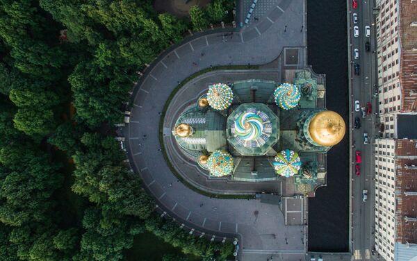 Cathédrale Saint-Sauveur-sur-le-Sang-Versé de Saint-Pétersbourg - Sputnik France