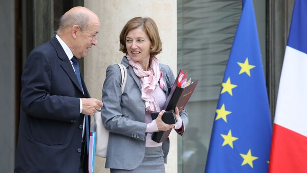 Jean-Yves Le Drian et Florence Parly  - Sputnik France
