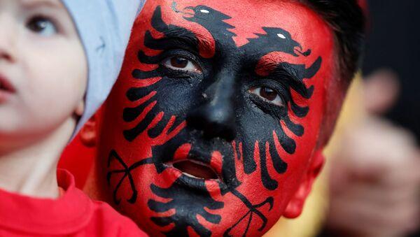 Un supporteur albanais - Sputnik France