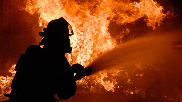 un pompier (image d'illustration) - Sputnik France