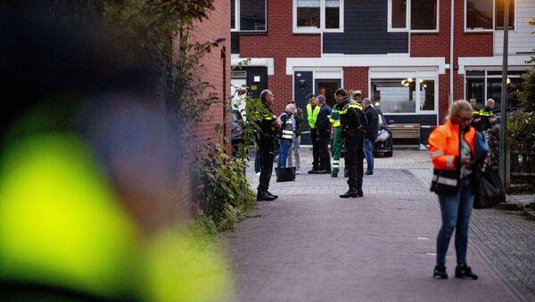 Dordrecht, aux Pays-Bas, après la fusillade, le 9 septembre 2019 - Sputnik France
