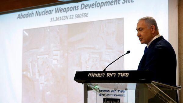 Israeli Prime Minister Benjamin Netanyahu speaks at a news conference in Jerusalem September 9, 2019.  - Sputnik France