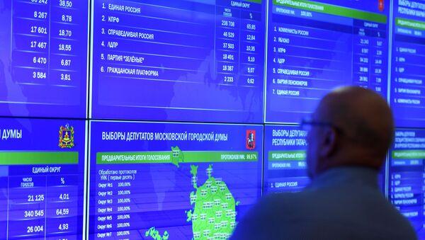 Les élections municipales et régionales en Russie, le 8 septembre 2019 - Sputnik France