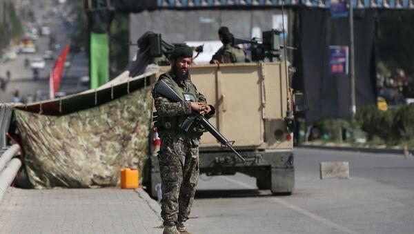militaire de l'Armée nationale afghane - Sputnik France