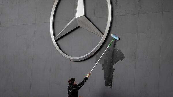 Logo de Mercedes - Sputnik France