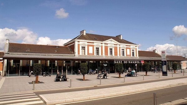 Gare de Vannes, bâtiment voyageurs vue du côté ville - Sputnik France
