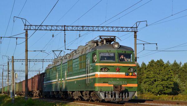Un train de marchandises  - Sputnik France