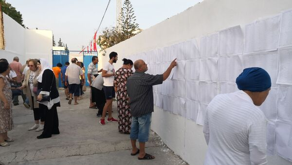 Des électeurs, présidentielle en Tunisie - Sputnik France