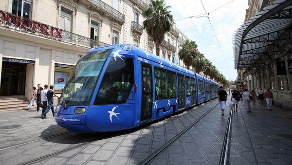 Un tram à Montpellier - Sputnik France
