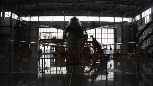 L'usine aéronautique d'Airbus à Tianjin, en Chine - Sputnik France