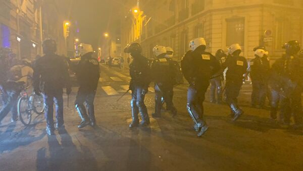 L'acte 45  sur les Champs-Élysées 21 septembre 2019 - Sputnik France