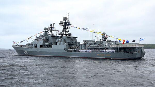 Le Vice-amiral Koulakov lors de la célébration de la Journée de la marine russe - Sputnik France