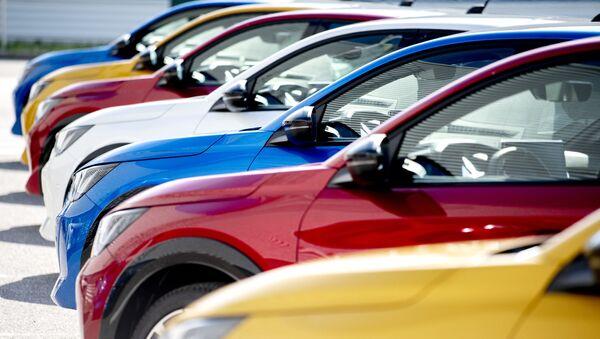 voitures du PSA Group, image d'illustration - Sputnik France
