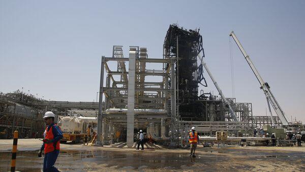 Une installation pétrolière en Arabie saoudite (archive photo) - Sputnik France