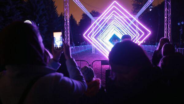 Les éblouissantes créations présentées au festival Cercle de Lumière de Moscou  - Sputnik France