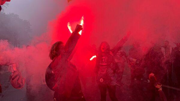 Manifestation interprofessionnelle à Paris contre la réforme des retraites, 5 décembre 2019 - Sputnik France