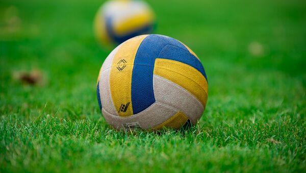 Un ballon de volley-ball (image d'illustration) - Sputnik France
