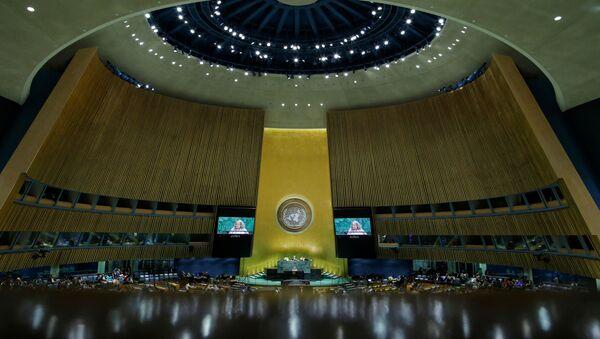 Une séance de l'Assemblée générale des Nations unies - Sputnik France