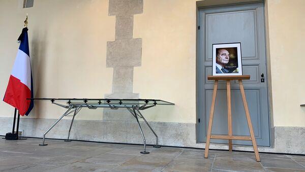 Décès de Jacques Chirac: une cérémonie populaire pour rendre hommage à l'ancien Président français se tient à Paris, 29 septembre 2019 - Sputnik France
