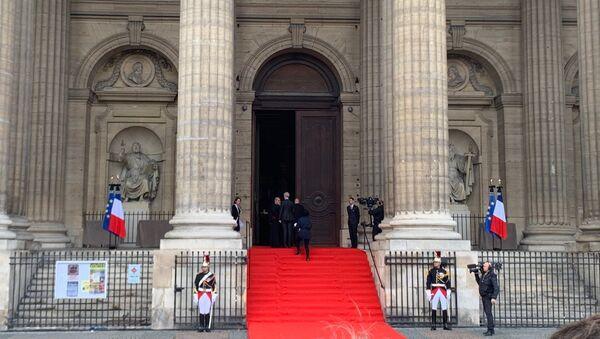 Cérémonie d'hommage à Jacques Chirac à Paris - Sputnik France