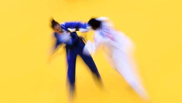 Un combat de judo - Sputnik France
