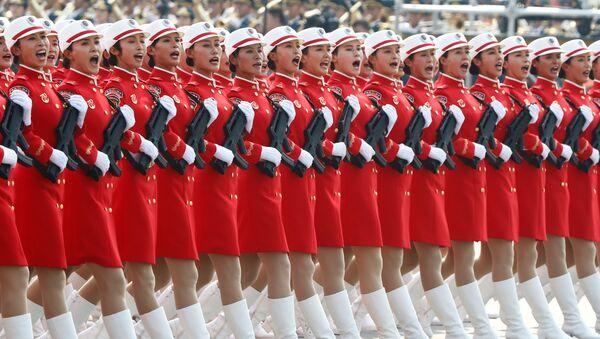 Défilé consacré au 70e anniversaire de la République populaire de Chine à Pékin  - Sputnik France