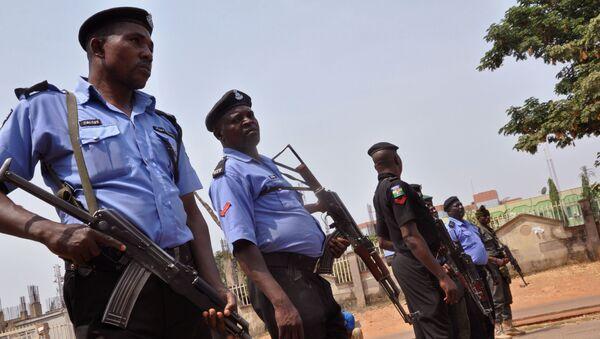 Police nigériane, image d'illustration - Sputnik France