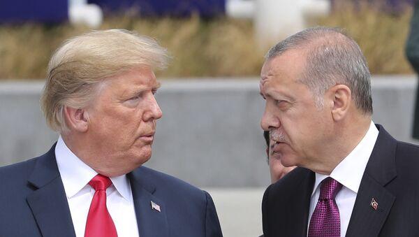 Donald Trump et Recep Tayyip Erdogan (archive photo) - Sputnik France
